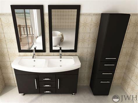 48 double sink bathroom vanity jwh living 48 quot celine double sink vanity