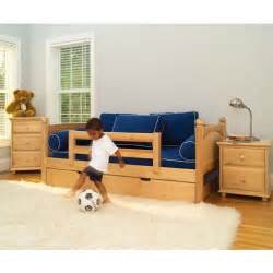 Daybeds For Toddlers Maxtrix Daybed With Safety Rails Trundle Bed