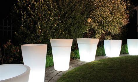 vasi luminosi per esterno vasi luminosi di varie dimensioni groupon goods