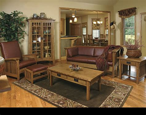 mission living room mission style living room furniture by schrocks of walnut