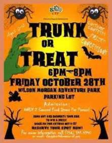 trunk or treat flyer template trunk or treat flyer template letter format exle