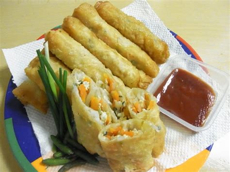resep lumpia goreng isi sayuran resep masakan kuliner