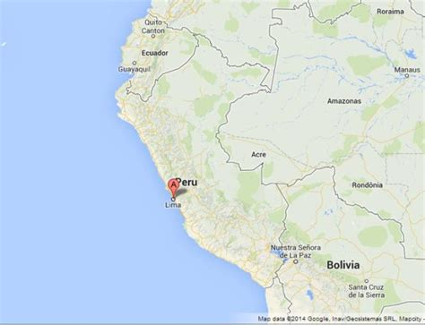 where is lima peru located on a world map lima the capital of peru world easy guides