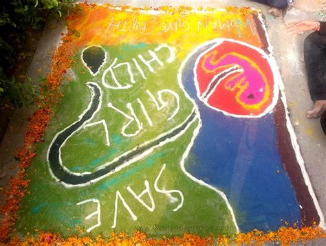 rangoli themes on social issues rangoli designs with theme go green www pixshark com