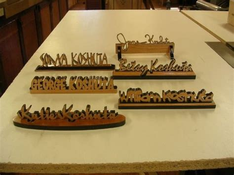 Personalised Desk Plaque by Crafted Personalized Desk Name Plates By Larue