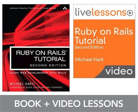 rails tutorial github hartl ruby on rails video learn rails by exle michael hartl