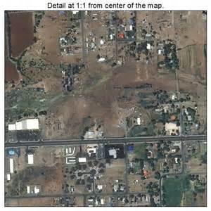 aerial photography map of st johns az arizona