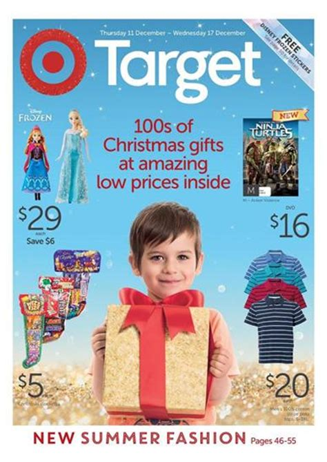 target catalogue christmas discount gifts