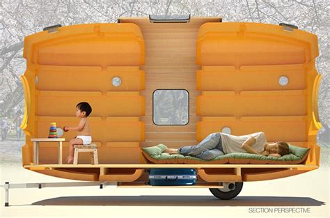 tiny house water tank taku tanku the tiny superlight house made from plastic water tanks daily mail online