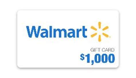 1000 Gift Card Walmart - contest win 1 000 walmart gift card