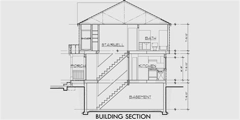 section of a house plan duplex house plans small duplex house plans duplex plans