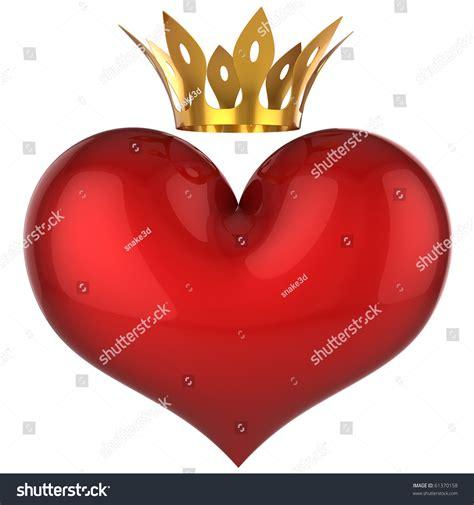 king valentines king shiny blank stock illustration