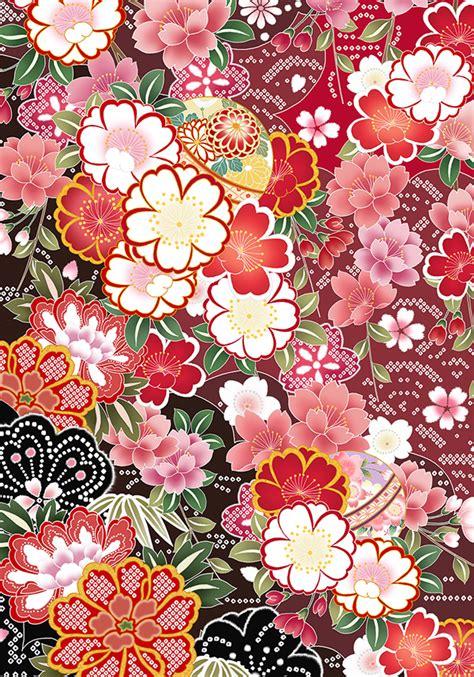 pattern fiori flower pattern of japan on behance