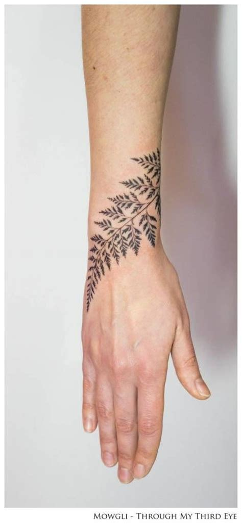 delicate wrist tattoo designs 40 meticulous fern designs amazing ideas