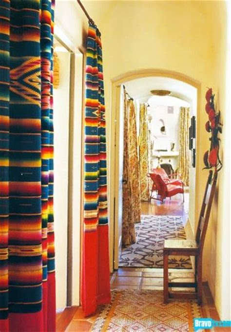 Mexican Kitchen Curtains 17 Best Ideas About Mexican Blanket Decor On Brown Seat Blankets Black Seat