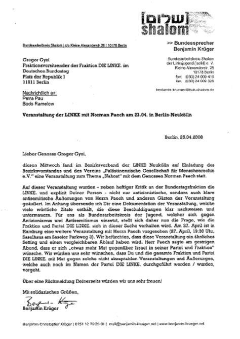 Offizieller Brief Aufbau Die Akte Bodo Ramelow T 228 Tig In Wessen Auftrag