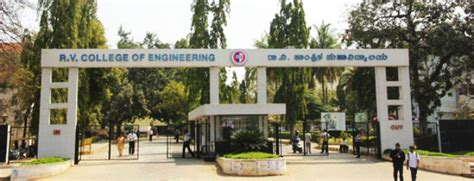 Rvs College Coimbatore Mba Fees Structure by R V College Of Engineering College Details Cushunt