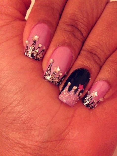 birthday themed nail art princess themed nail art 21st birthday planning