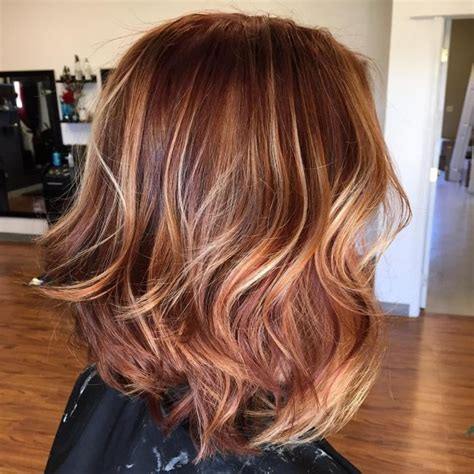 Rose Gold Lowlights On Dark Hair | 60 lovely hairdos with caramel highlights the tasty trend