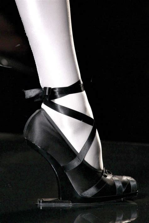 Jean Paul Gaultier Black Heels a shoe affair couture fall 2011 shoes