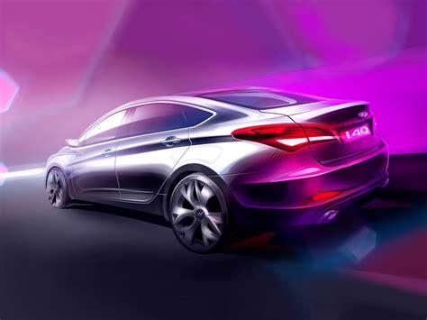 hyundai merced concept cars dise 241 o puro 90 sketchs autos y motos