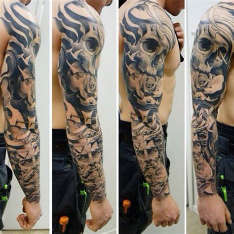 half sleeve tattoo designs for men gallery top 100 best sleeve tattoos for cool designs and ideas