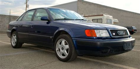 Audi S4 Years by Buy Used 1994 Audi S4 Blue Color Great Shape