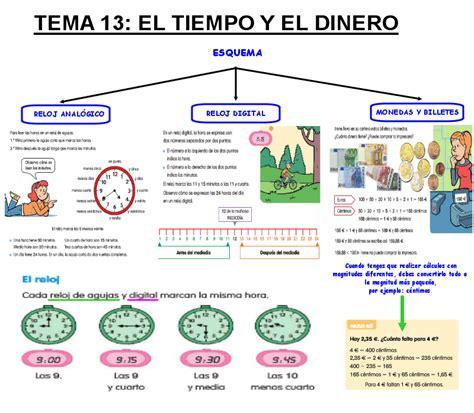 ejercicios tiempo y dinero de 4 de primaria santillana ejercicios tiempo y dinero de 4 de primaria santillana