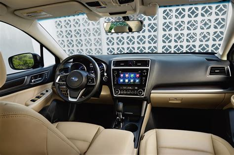 subaru legacy interior refreshed 2018 subaru legacy will debut at the chicago