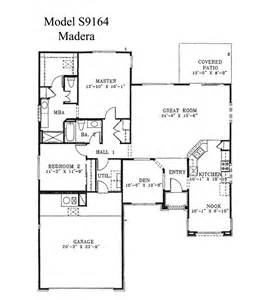 Model Home Floor Plans by Sun City Grand Madera Floor Plan Del Webb Sun City Grand