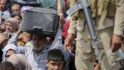 imagenes impactantes del estado islamico impactantes fotos video de un 233 xodo iraqu 237 ante la