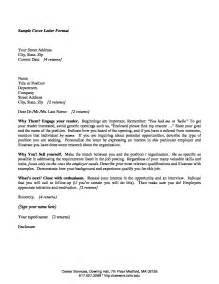 Cover Letter Recent Graduate sample cover letter for