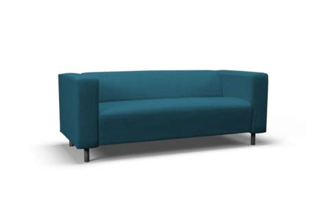 klippan two seat sofa klippan two seat sofa cover event turquoise blue by