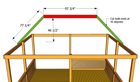 Hip Roof Pavilion Plans My Project Detail Woodworking Project Outdoors Plans
