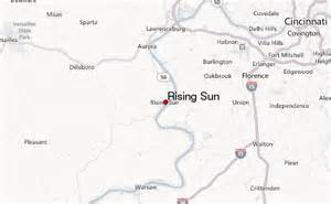rising sun weather forecast
