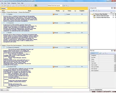 process management templates