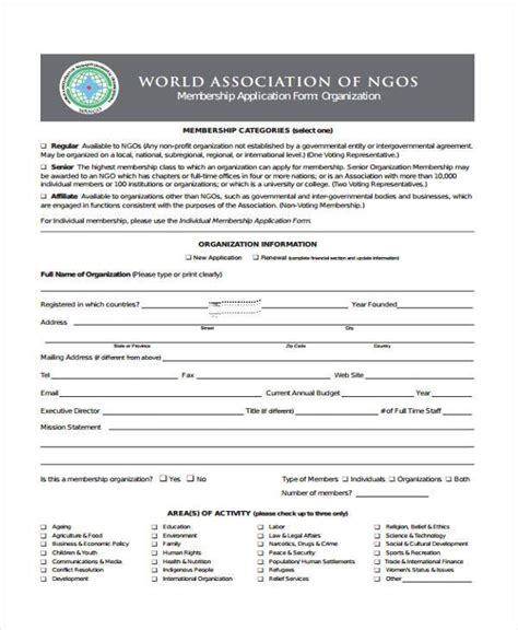 consent letter format for ngo 6 ngo registration form sles free sle exle format