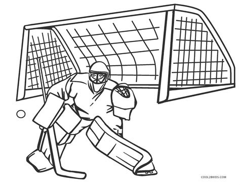 coloring pictures of hockey goalies free printable hockey coloring pages for kids cool2bkids