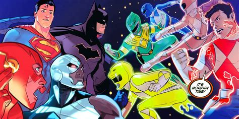 justice league power rangers jla justice league of america power rangers declare war on the justice league