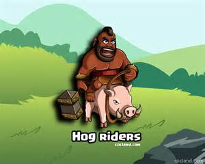 Hog rider guide clash of clans land
