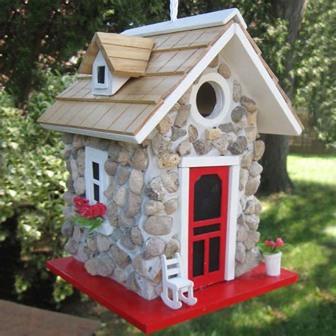 Decorative Bird Houses by Bird House Hanging Decorative And Wood Birdhouse