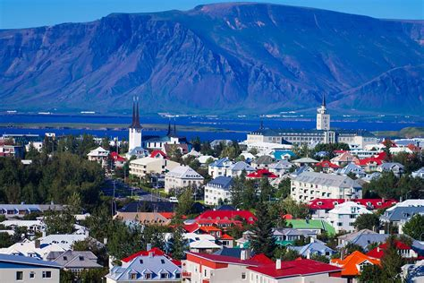 Reykjavik For The Country by The Most Colorful And Vibrant Travel Destinations In Europe
