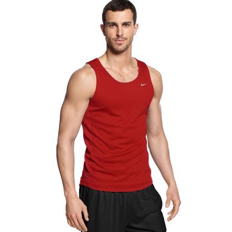 Running Singlet S Nike nike miler running singlet in black for lyst