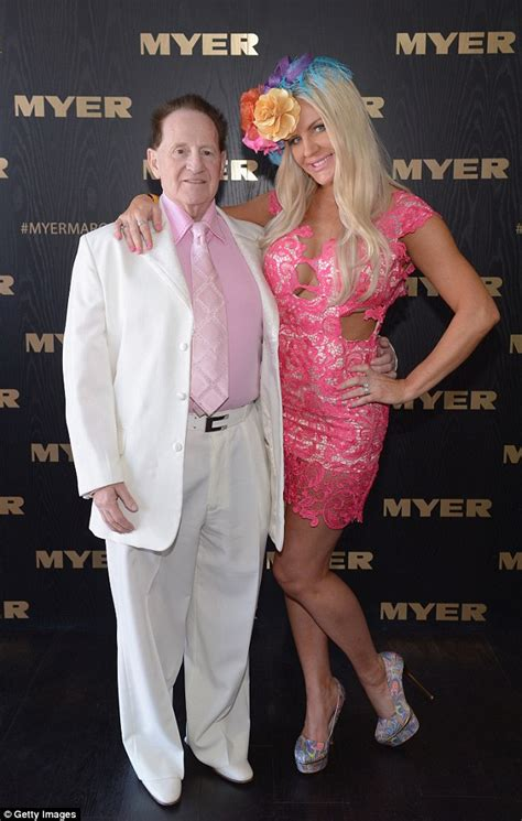Bruce Willis Dating 23 Year Playmate Model by Geoffrey Edelsten Introduces New Model