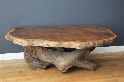 slab wood coffee table burl wood slab coffee table coffee table design ideas