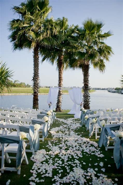 backyard beach wedding outdoor beach wedding ceremony in florida onewed com