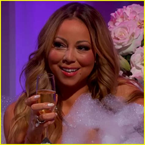 mariah carey bathtub mariah carey gets into a bathtub with jimmy kimmel video fullact trending stories