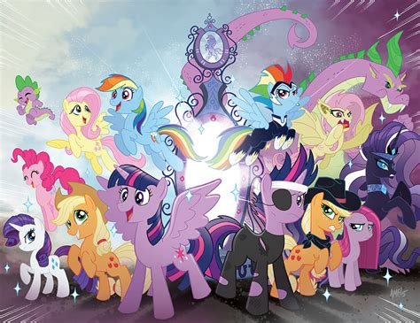 Kaos Forever Together 18 my pony 32 friends forever 18 jetpack cvrs by