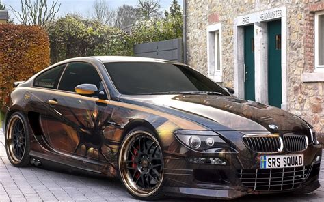 Airbrush Auto by Others Bmw Car With Custom Airbrush Car Modification