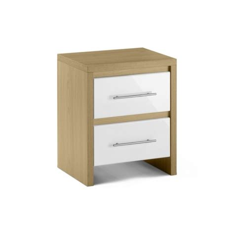 Cheap White Bedside Drawers by Cheap Stockholm Bedroom Bedside Table With 2 Drawer For Sale